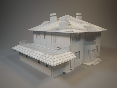 3D Визуализация - Согласование геометрии
