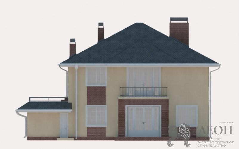 3D Визуализация - Проекция фасада